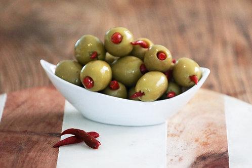 Chilli Stuffed Green Olives