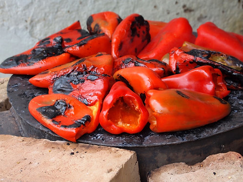 Chargrilled Red Peppers