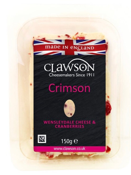 Wensleydale with Cranberries - 150g