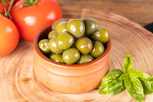 Smoke Infused Sicilian Olives