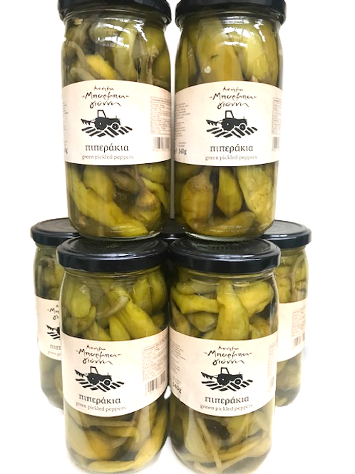 Green Pickled Peppers - 340g