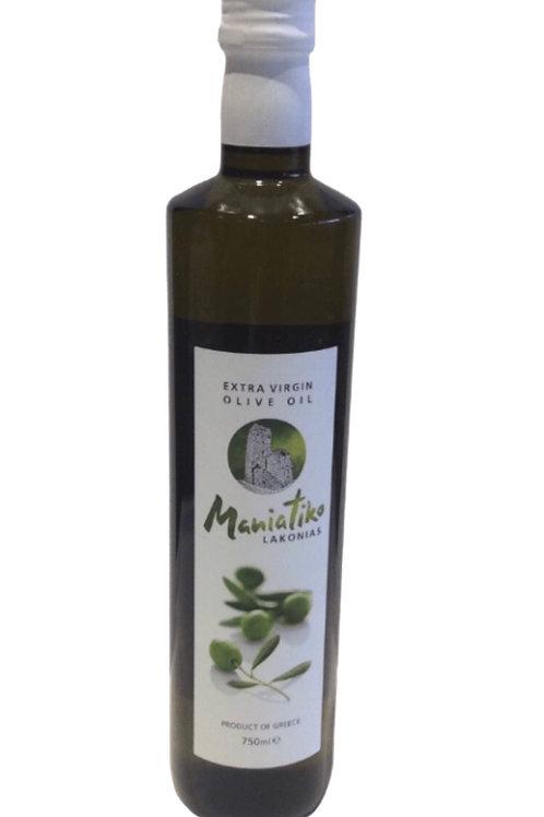 Maniatiko Extra Virgin Olive Oil - 750ml