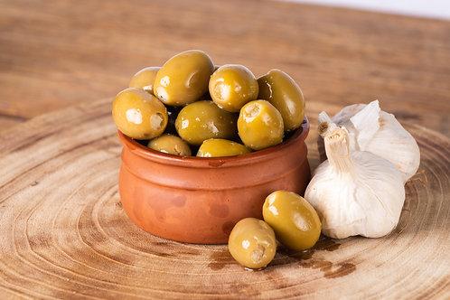Roasted Garlic Stuffed Olives