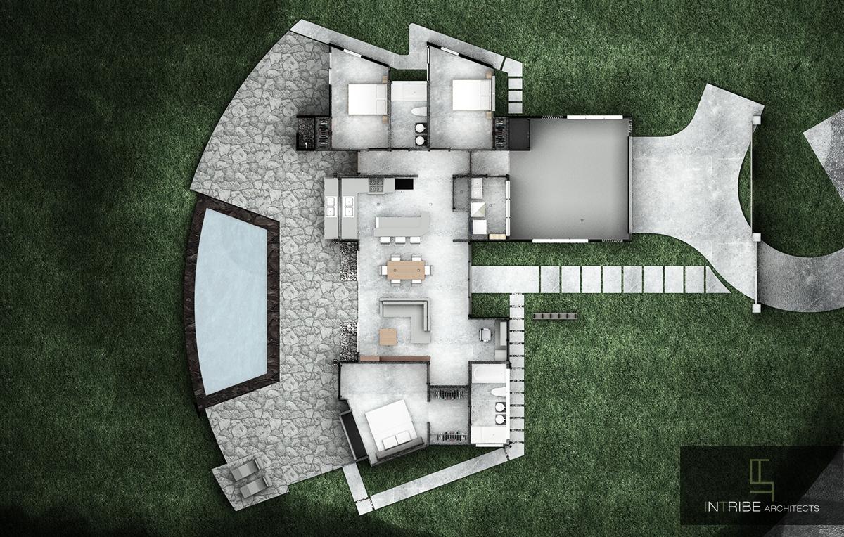 Casa Hamann planta