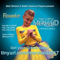 Flounder Poster