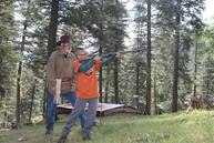 Mountain Man Black Powder Rifle