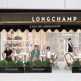 Cafe De Longchamp
