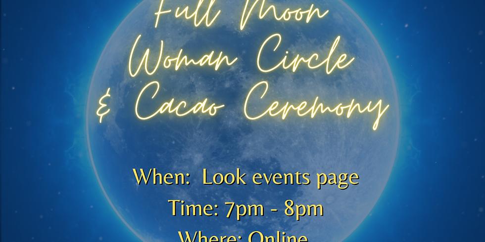 Full Moon Women's Circle & Tea Ceremony