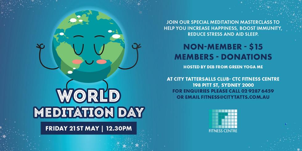 World Meditation Day