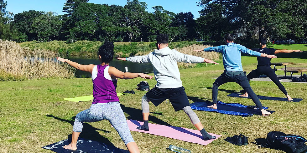 Hatha Yoga Class in Centennial Park