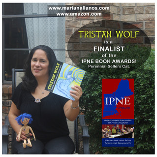 TRISTAN WOLF if a FINALIST of the IPNE Book Awards 2016