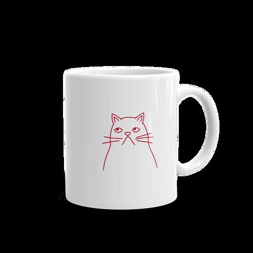 Don't mess my cafe con leche Mug