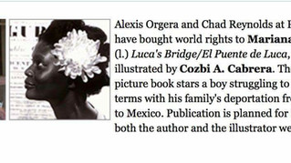 Mariana Llanos Signs Contract for New Picture Book