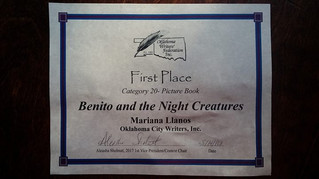 Benito and the Night Creatures wins 1st place at OWFI contest
