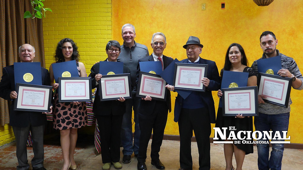 The winners of the 2017 HACO Awards
