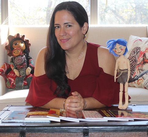 Author Mariana Llanos