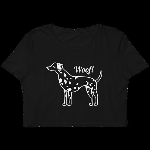 Woof Crop Top Junior Sizes