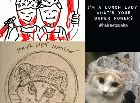 """Lunch Ladies Hold A Fan Art Competition And It Backfires - Only Three Entries: """"Whatever"""""""