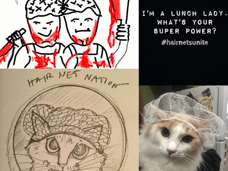 "Lunch Ladies Hold A Fan Art Competition And It Backfires - Only Three Entries: ""Whatever"""
