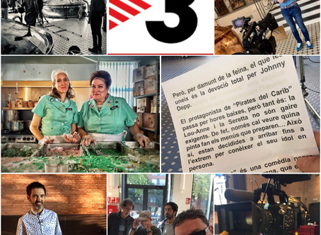 Old News! Lunch Ladies Screens On Catalonia's Curtcircuit 33 TV Show -  Crew Avoids Tapas