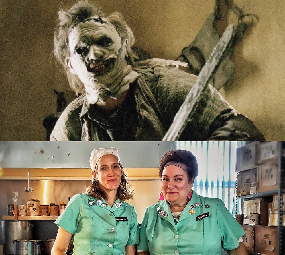 Leatherface Lunch Ladies