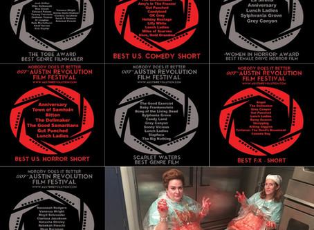 Lunch Ladies Up To Same Old Sh*t - Badger Beleaguered Austin Revolution Film Fest Into Seven Noms