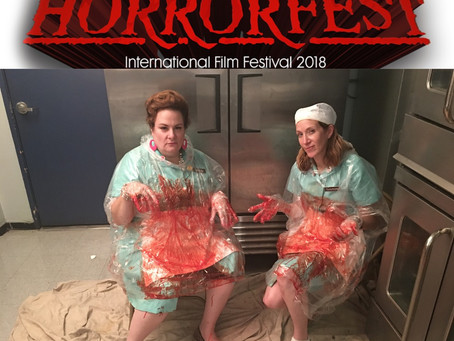 "Lunch Ladies Selection of Hollywood Horrorfest After Sending Programmers ""Lucky"" Severed Finger"
