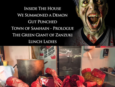 Lunch Ladies Furious At Nomination For Best Special EFX Award From Crimson Screen Horror Fest