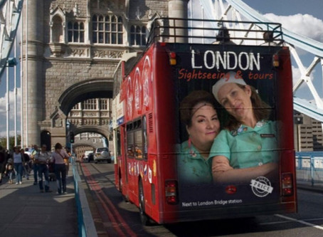 Lunch Ladies Head To London For Soho Horror And Misty Moon Fest - Will Ride Double Decker Bus