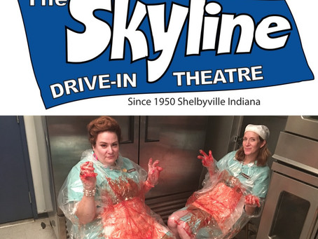 Lunch Ladies To Screen At Indiana's Skyline Drive-In - Will Come In Pajamas And OD On Concessions