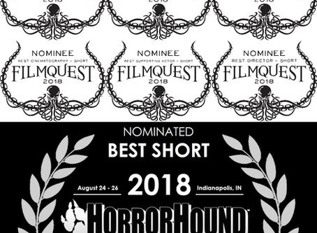 Lunch Ladies Annoy Everyone With Happy Dance After Six Noms From FilmQuest And Nom From HorrorHound