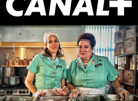 Shocking Exposé!  Canal+ Picks Up Brazen Lunch Ladies After They Flirt With Them At Clermont-Ferrand