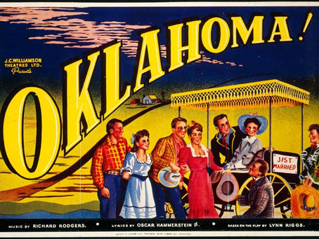 Oklahoma!  Oh What A Beautiful Feeling Everything's Goin' The Lunch Ladies Way