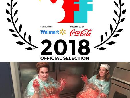 Lunch Ladies Off To Bentonville Fest - Will O.D. On Cola, Shop Walmart & Girl Crush On Geena Davis