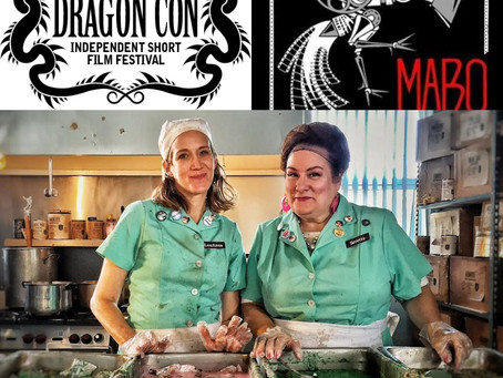 Twofer Lunch Ladies Happy As Clams After Conning Both Dragon Con and MABO Film Fest Into A Selection