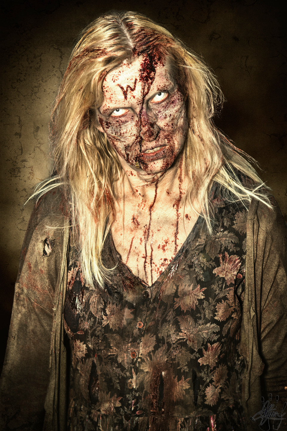 Los Angeles Zombie Girl Vicki Woods