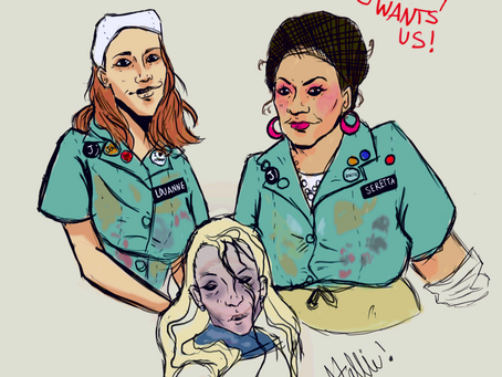 It's Time For... Twisted Lunch Ladies Fan Art!