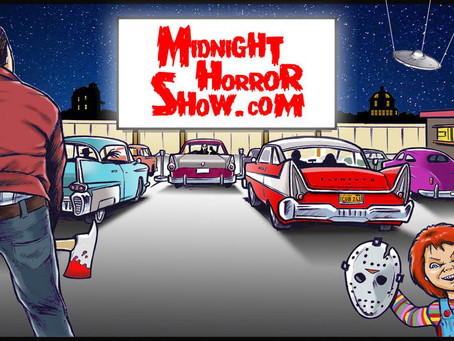 """Lunch Ladies Manifest Great Review From Midnight Horror Show - """"This Positive Thinking Crap Works!"""""""