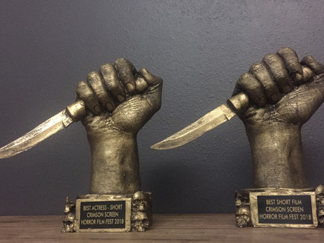 Lunch Ladies Win Two Awards At Crimson Horror Film Fest - People Are Really Getting Sick Of Them