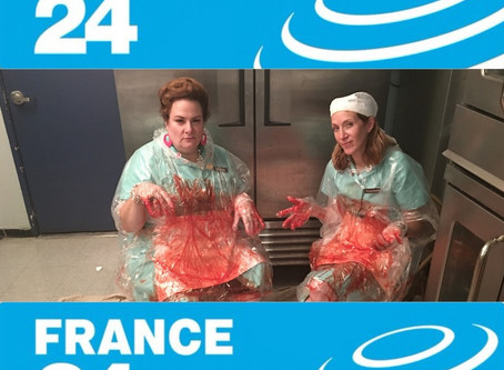 Lunch Ladies Miffed They Were Not Invited To Attend International News Channel France 24's Interview