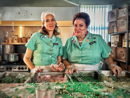 Lunch Ladies Behind Natural Disasters -Writer/Producer Jacobson Warns Film Fests To Be Wary
