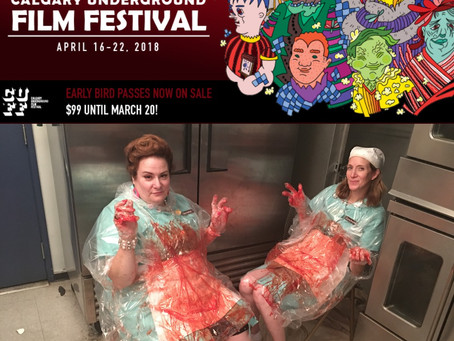 """Lunch Ladies Head To Canada For Calgary Underground Film Fest - Drive Programmers Nuts Saying """"Eh?"""""""