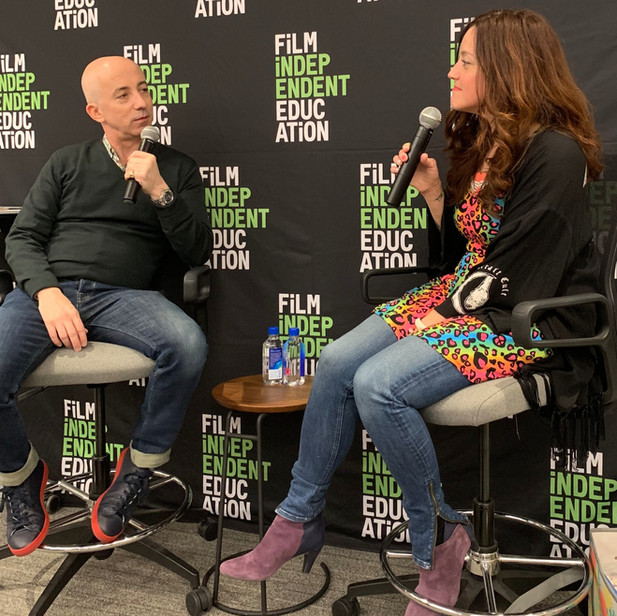 Talking About My Book At Film Independent