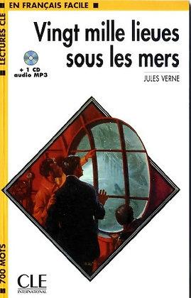"Jules Verne - ""20000 lieues sous les mers""  (Pack wA51)"