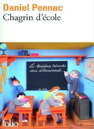 """Daniel Pennac - """"Chagrin d'école""""  (Pack wD32)"""