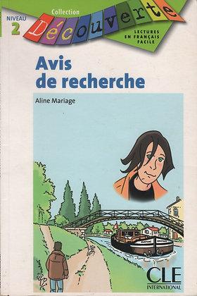Aline Mariage - Avis de recherche  (Pack wA17)