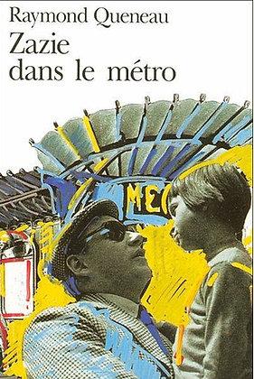 """Raymond Queneau - """"Zazie dans le metro""""  (Pack wD33)"""