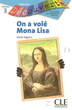 """Cécile Talguen - """"On a volé Mona Lisa""""  (Pack wA84)"""