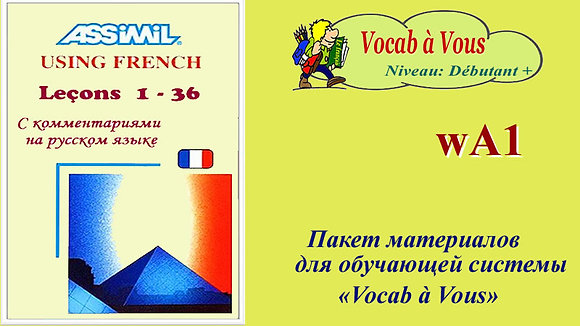 Assimil Using French  (Pack wА01)