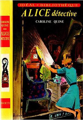 """Quine Caroline - """"Alice Detective""""  (wH22)"""